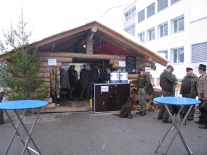 Pelzfellmarkt in Mörel VS 2009